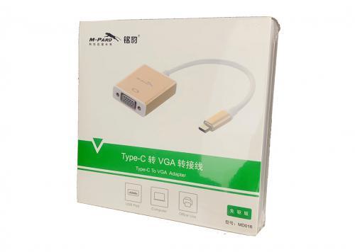 CÁP TYPE-C -> VGA M-PARD (MD016)