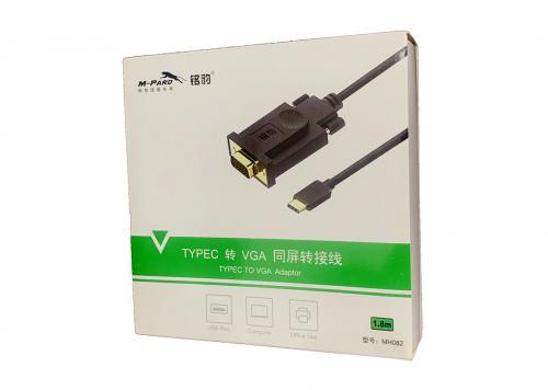 CÁP TYPE-C -> VGA 1.8M M-PARD (MH082)