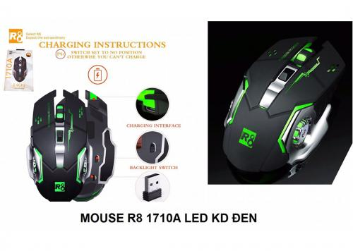 MOUSE WIRELESS LED R8 1710A