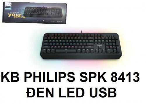KEYBOARD LED PHILIPS SPK-8413
