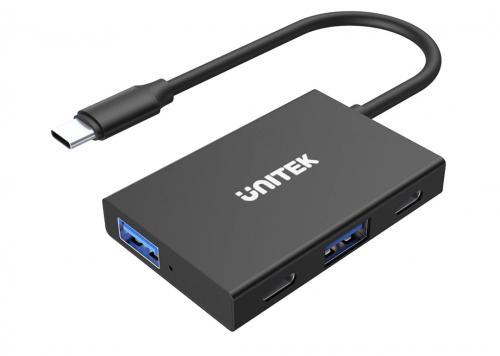 CÁP TYPE-C -> 2 USB 3.0 + 2 TYPE-C UNITEK H1302A