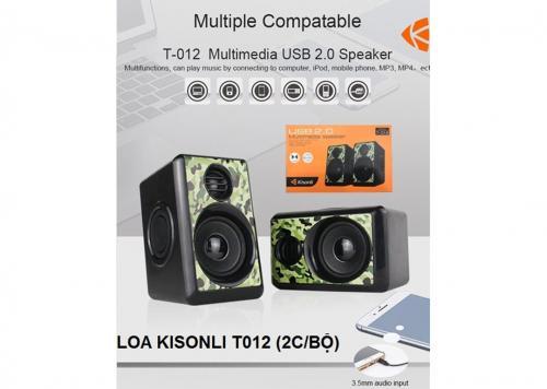 LOA KISONLI T-012 (2C/BỘ)