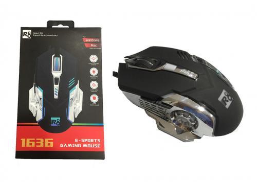 MOUSE R8 1636 LED (USB) ĐEN