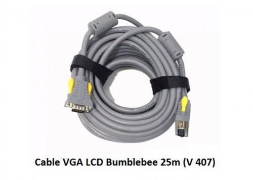 CÁP VGA LCD BUMBLEBEE 25M V 407