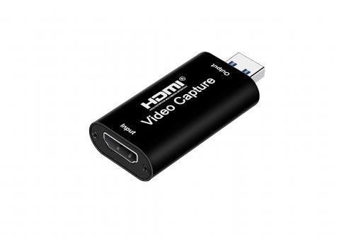 ĐẦU ĐỔI HDMI -> USB VIDEO CAPTURE 1AM-BB ĐEN
