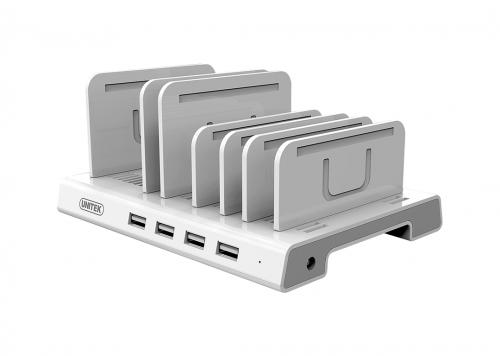 SẠC 36W 4 USB 2.4A UNITEK (Y-2187A)