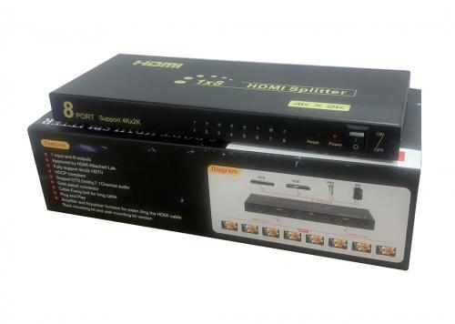 MULTI HDMI 1-8 4K (HD-SM4K108)