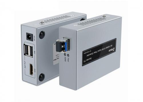 HỘP NỐI DÀI HDMI + USB KVM -> C.QUANG 4K DTECH (DT-7052-20KM)