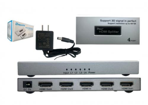 MULTI HDMI 1-4 4K 340MHZ DTECH (DT-7144A) MINI II