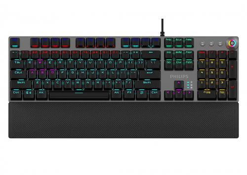 KEYBOARD LED RGB PHILIPS SPK8614GS RED SWITCH