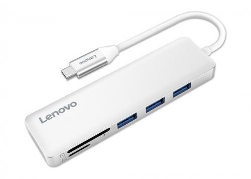 MULTIPORT HUB TYPE-C -> 3 USB 3.0 + SD + TF LENOVO (C605SL)
