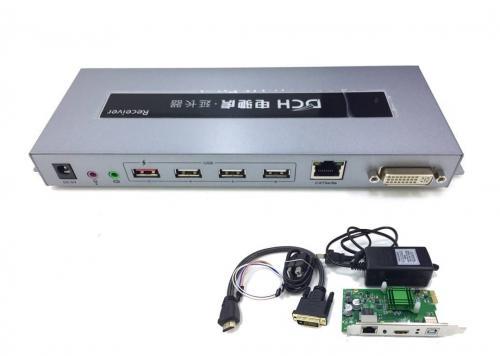 BỘ CHUYỂN ĐỔI + CARD -> DVI/LAN/USB/AUDIO DHC 2.5K DTECH