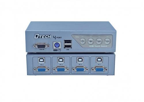 DATA VGA KVM 4-1 DTECH (DT-8041)