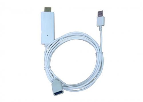 CÁP USB K, USB L TO HDMI MEASY (I8)