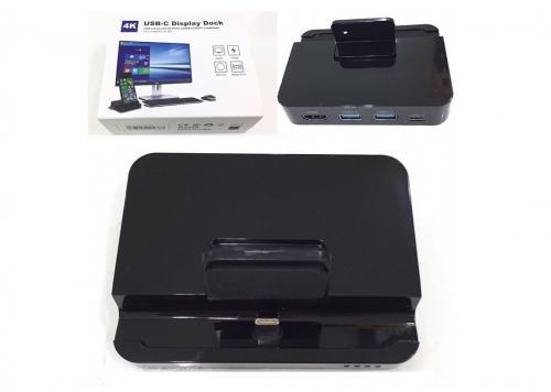 DOCK TYPE-C -> HDMI 4K + 2 USB 3.0 + 2 CARD TF/SD (OT-D 9138)