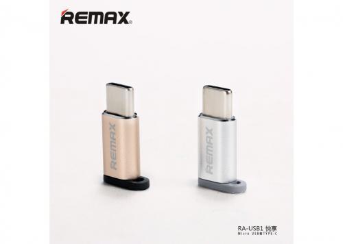ĐẦU ĐỔI MICRO USB -> TYPE-C REMAX (RA - USB1)