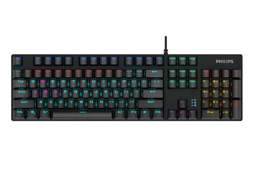 KEYBOARD LED RGB PHILIPS SPK8404GS