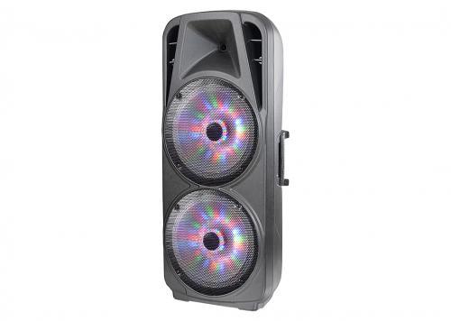 LOA + 2 MICRO USB/SD/FM/BT LED ADS (TC215F)