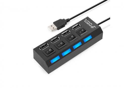 HUB 4-1 USB 2.0 HI-SPEED (UH-401)