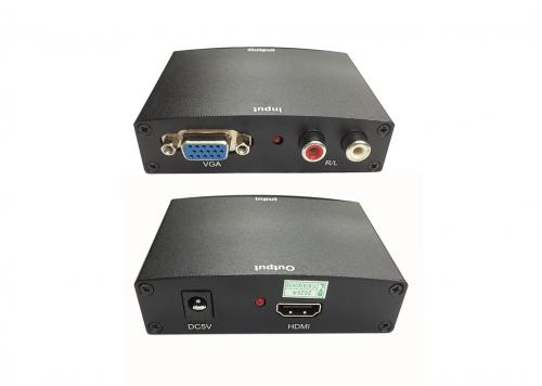 HỘP CHUYỂN ĐỔI VGA + AV -> HDMI V05