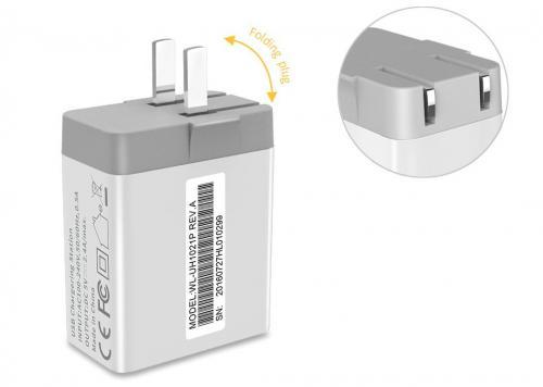SẠC USB 2P 2.4A WAVLINK (WL-UH1021P)