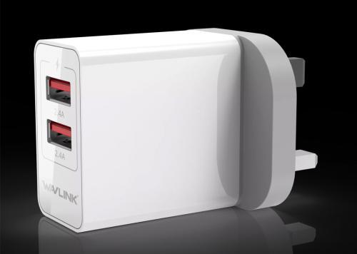 SẠC USB 2P 2.4 WAVLINK (WL-UH1022P)
