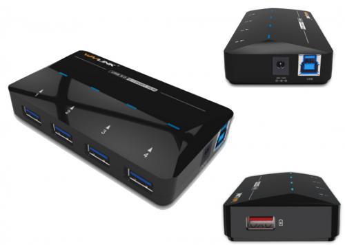 HUB USB 3.0 WAVLINK WL-UH3042P1
