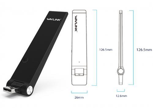 WAVLINK N300 USB MINI DOCK (WL-WN580N2)