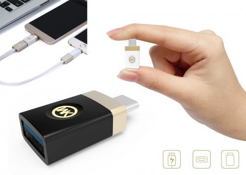 ĐẦU ĐỔI USB-> MICRO WK (WT-OTG)