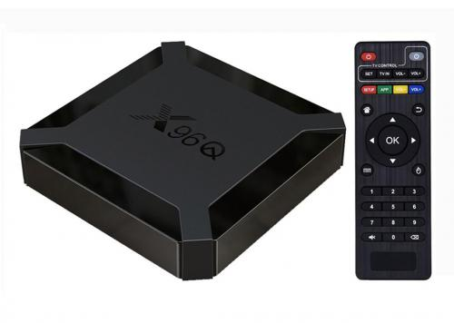 TV BOX ANDROID 2G+16G 4K ALL WINNER H313 X96Q