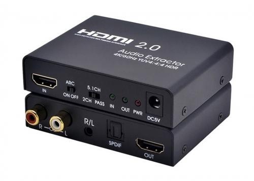 HỘP CHUYỂN HDMI 2.0 -> HDMI + 2 AV + SPDIF (AYS-41V20)