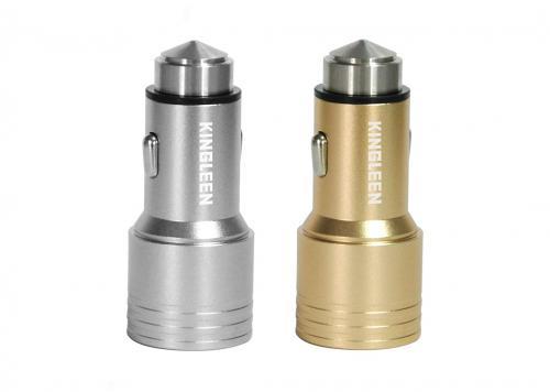 SẠC XE HƠI 2 USB 3.4A KINGLEEN (C906)