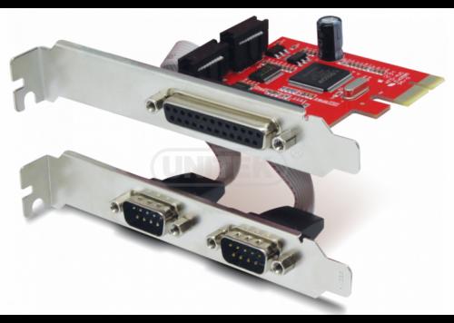 CARD PCI -> COM 25 + 2 COM 9 EXPRESS UNITEK (Y-7508)