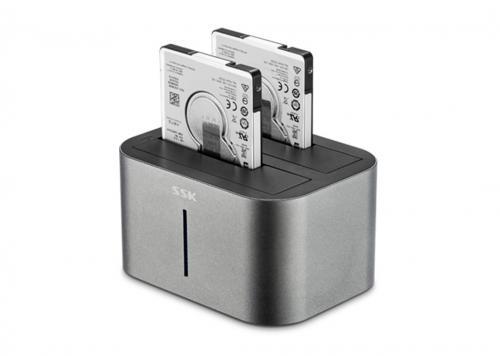HDD DOCK USB 3.0 -> SATA III 2.5/3.5 SSK (DK100)