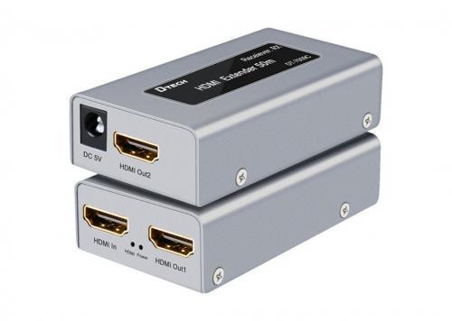 HỘP NỐI DÀI HDMI -> LAN 50M DTECH (DT-7009C)