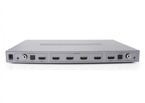 SWITCH HDMI 4-2 + AUDIO DTECH (DT-7442)