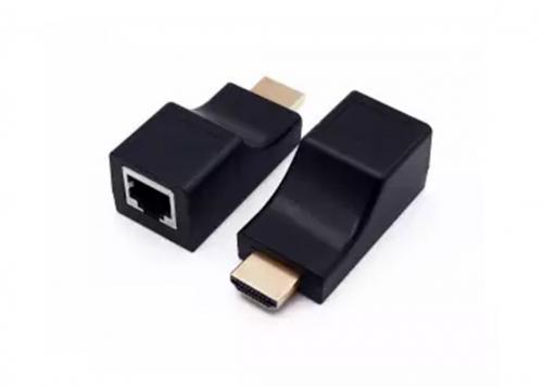 BỘ NỐI DÀI HDMI -> LAN CAT5E/CAT6 30M 4K