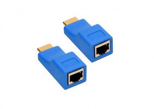 BỘ NỐI DÀI HDMI -> LAN CAT6/CAT6E 30M 4K