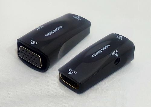 ĐẦU ĐỔI HDMI -> VGA + AUDIO KINGMASTER (KY-H127B)
