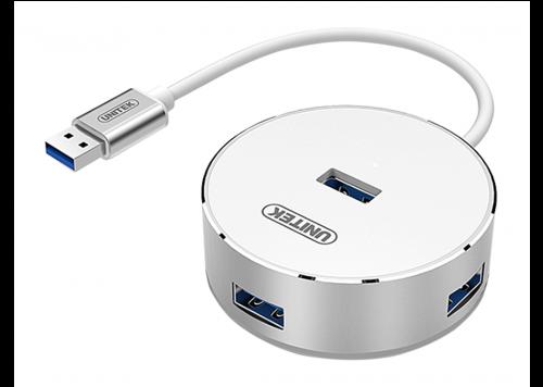 HUB 4-1 USB 3.0 UNITEK (Y-3197WH)