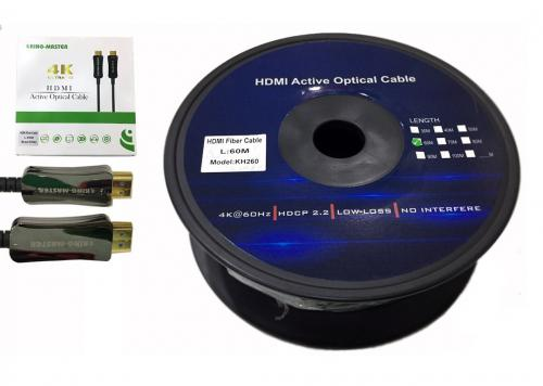 CÁP HDMI 2.0/4K - 60M ACTIVE OPTICAL KINGMASTER (KH260)