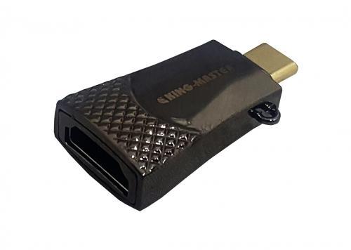 ĐẦU ĐỔI TYPE-C -> HDMI KINGMASTER (KY-V127B)