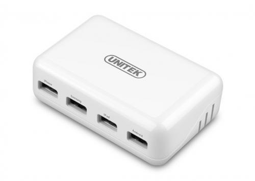 SẠC 3 USB 1A + USB 2A UNITEK (Y-2166WH)
