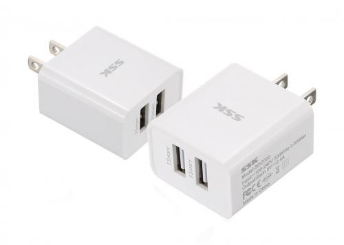 SẠC 2 USB 2.4A SSK (SDC020)