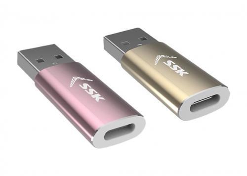 ĐẦU ĐỔI USB 3.0 -> TYPE-C SSK (SU3C003)
