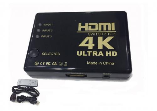 SWITCH HDMI 3-1 4K ULTRA HD 3D