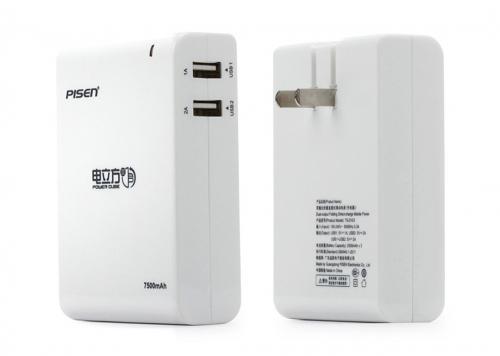 PIN SẠC POWER CUBE III 7500MAH PISEN (TS-D103)