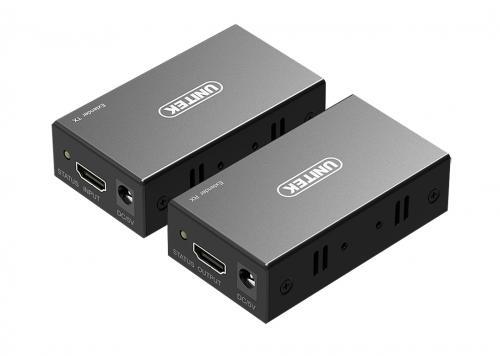 HỘP NỐI DÀI HDMI -> LAN 60M UNITEK (V100A)